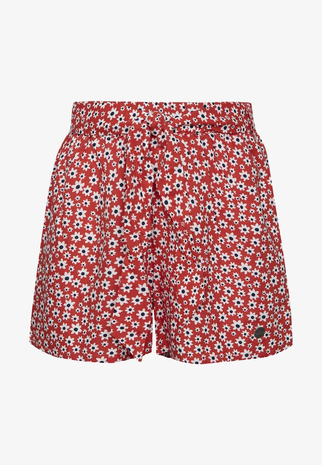 CATALINA - Shorts - red/white