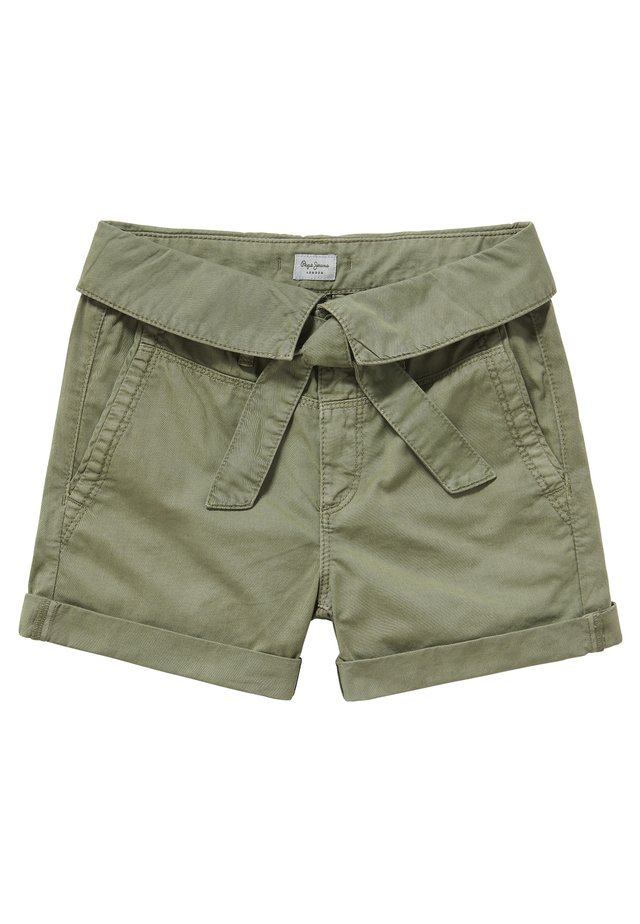 BOA - Denim shorts - safari