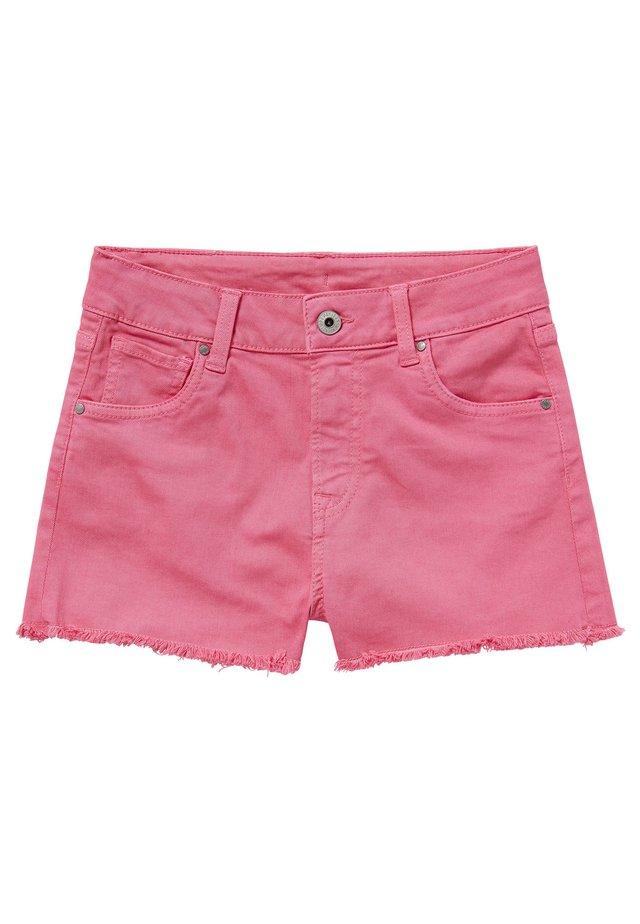 PATTY  - Shorts vaqueros - bubble gum