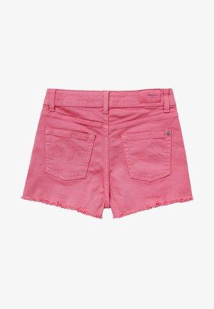 PATTY  - Denim shorts - bubble gum