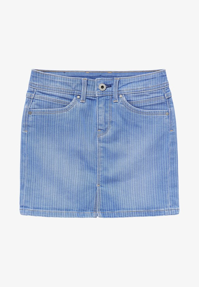 MONIA - Denim skirt - blue denim