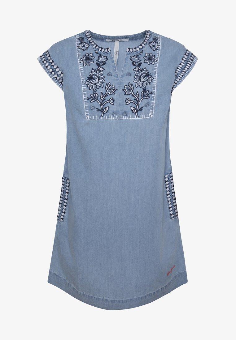 Pepe Jeans - ROCIO - Denim dress - blue denim