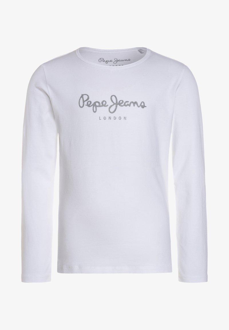 Pepe Jeans - HANA GLITTER  - Longsleeve - white