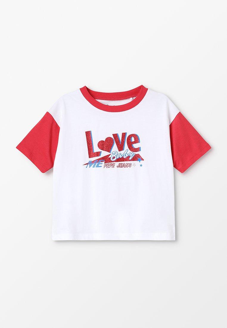 Pepe Jeans - LOLAS - Camiseta estampada - optic white