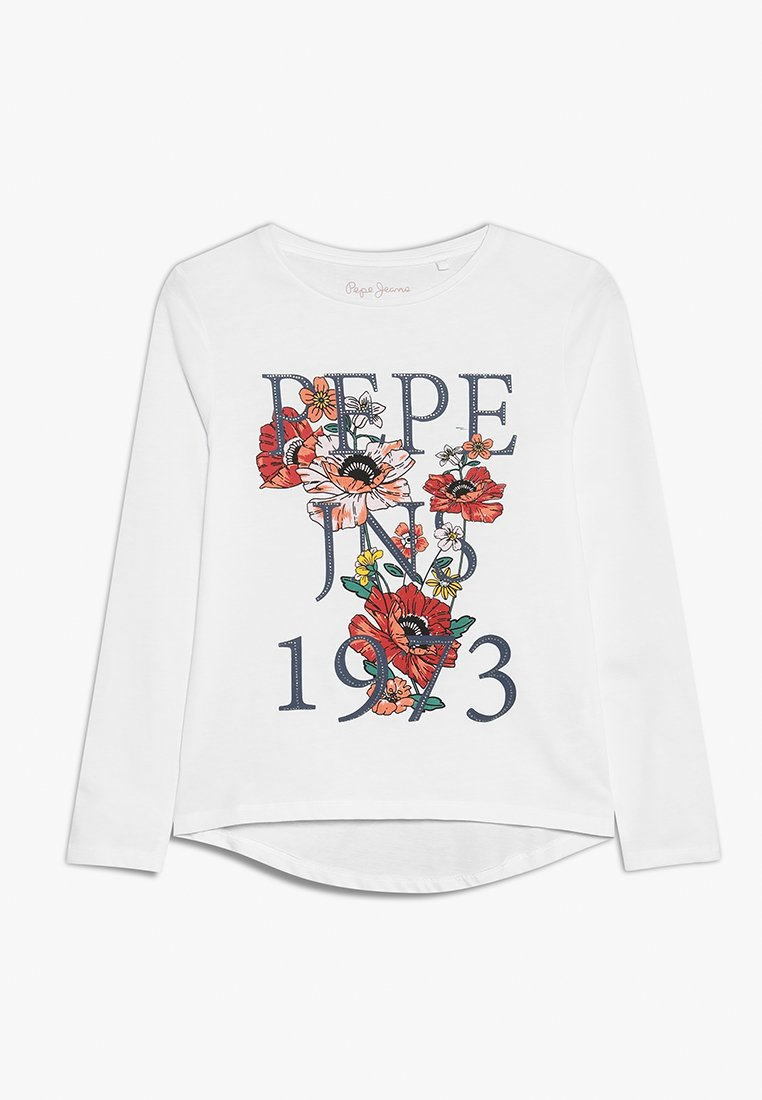 Pepe Jeans - AXELLE - Langærmede T-shirts - optic white