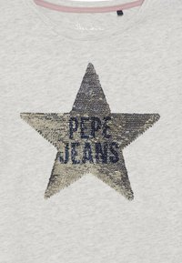 Pepe Jeans - MARGARET - Top sdlouhým rukávem - grey marl - 3