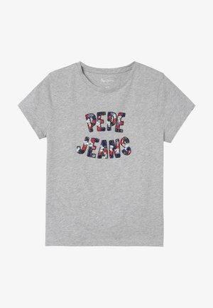 COSMIC - Print T-shirt - grey marl