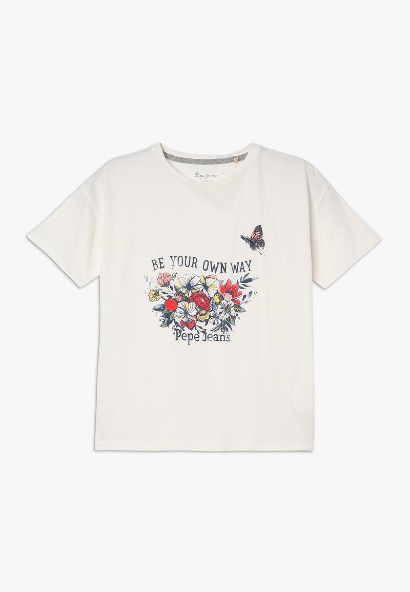 Pepe Jeans - Print T-shirt - mousse
