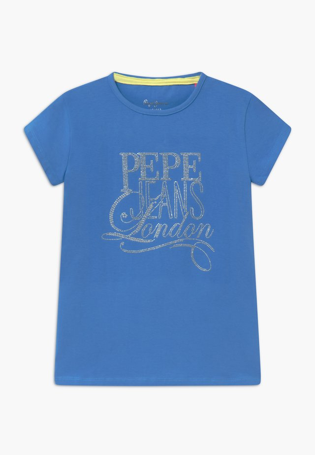 AQUARIA - Print T-shirt - ultra blue