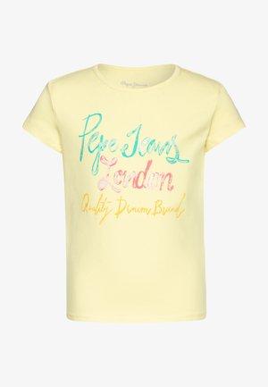 FARRAH - T-shirt con stampa - sorbet lemon