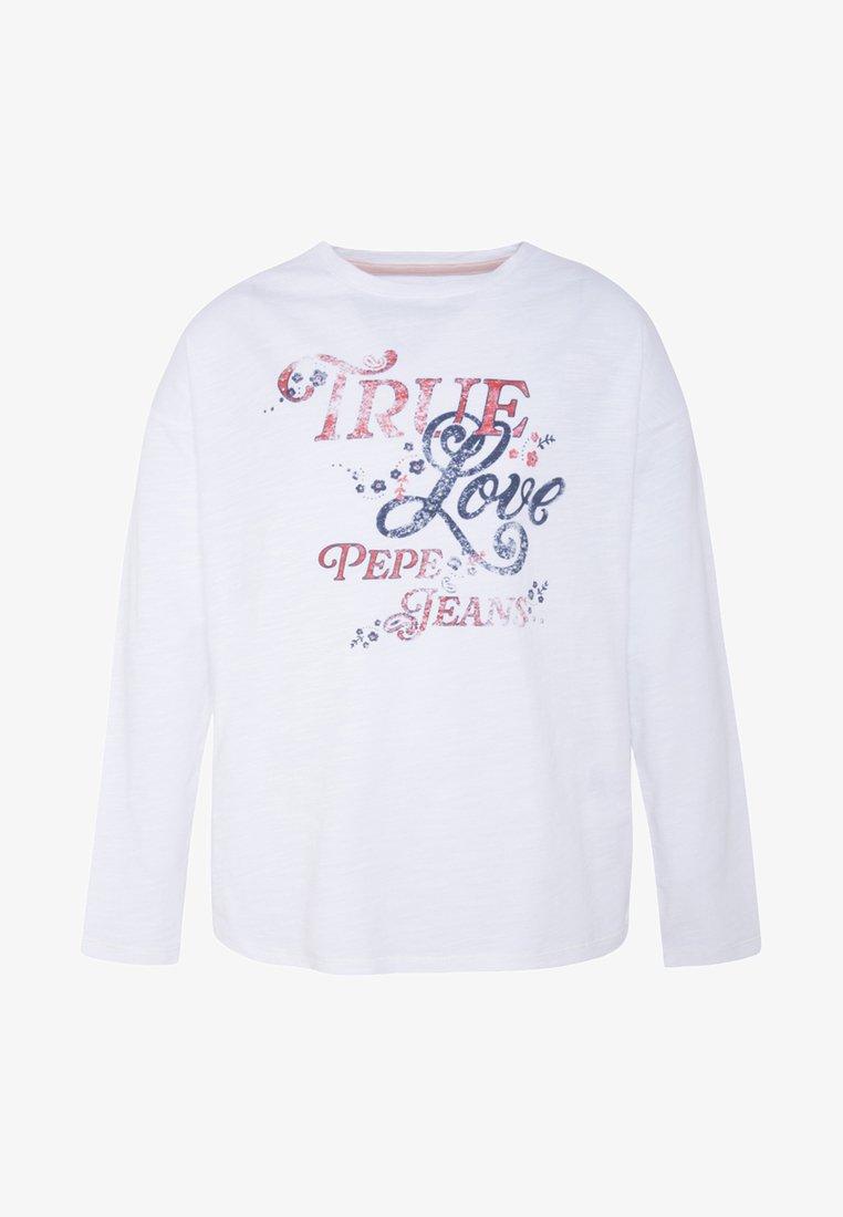 Pepe Jeans - CRISMON - Longsleeve - optic white