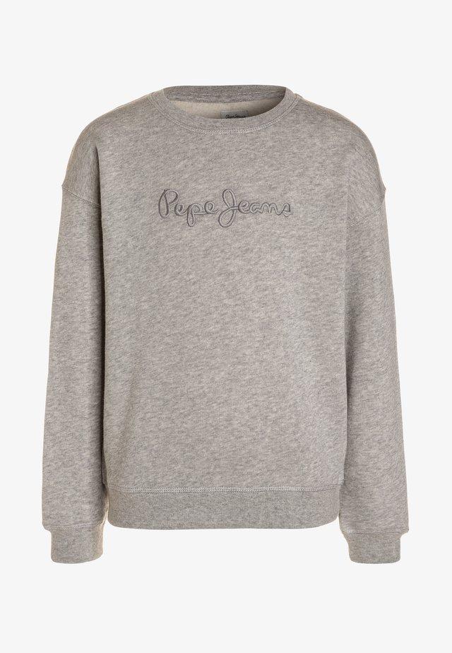 CREW NECK GIRLS - Sweatshirt - grey marl