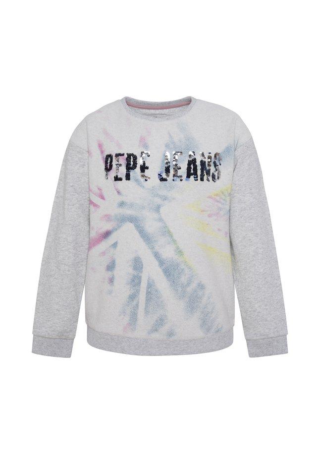 EEVIE - Sweater - hell marl grau