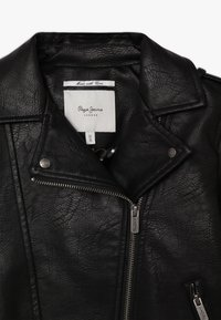 Pepe Jeans - ANDROMEDA - Faux leather jacket - black - 3