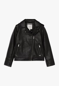 Pepe Jeans - ANDROMEDA - Faux leather jacket - black - 0
