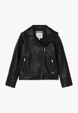 ANDROMEDA - Faux leather jacket - black