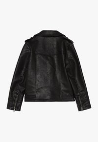 Pepe Jeans - ANDROMEDA - Faux leather jacket - black - 1