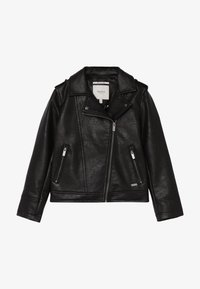 Pepe Jeans - ANDROMEDA - Faux leather jacket - black - 2
