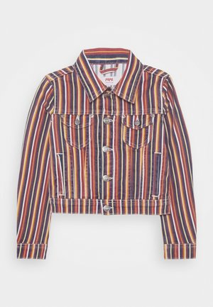 BERRY STRIPE - Cowboyjakker - denim