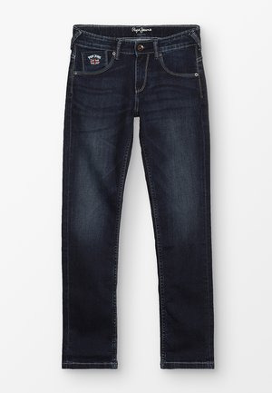 EMERSON - Slim fit jeans - dark-blue denim
