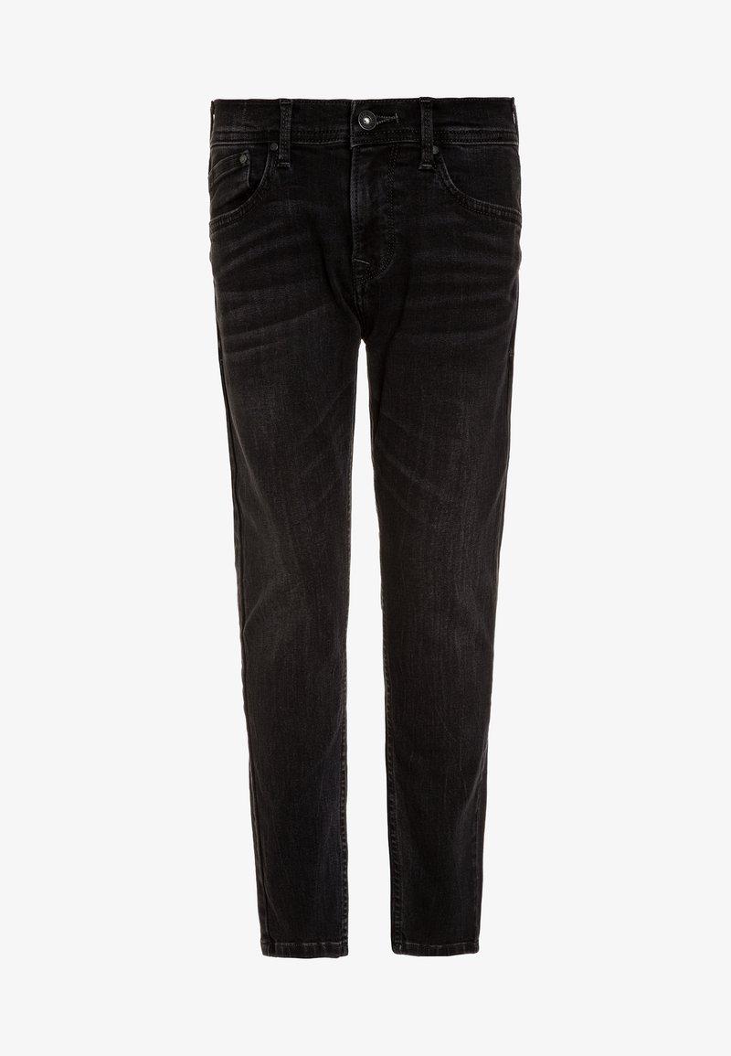 Pepe Jeans - FINLY - Vaqueros pitillo - black denim