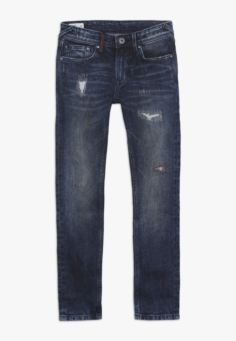 Pepe Jeans - FINLY - Slim fit jeans - dark used