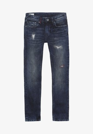 FINLY - Slim fit jeans - dark used