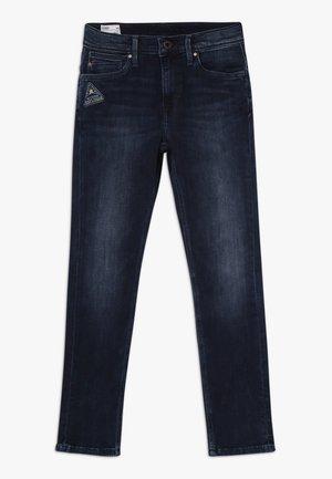 NICKELS BADGE - Slim fit jeans - denim