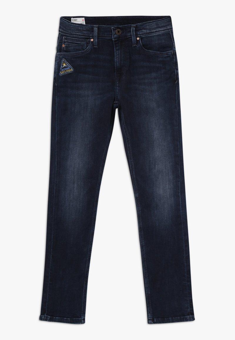 Pepe Jeans - NICKELS BADGE - Jeans Slim Fit - denim