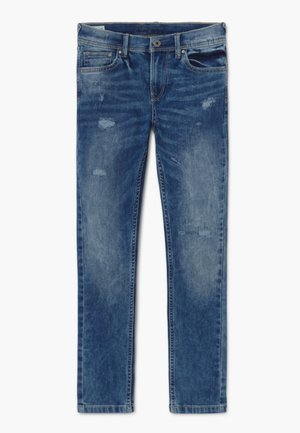 FINLY REPAIR - Jeans Skinny Fit - denim