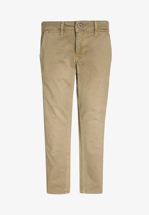 BLUEBURN - Chino kalhoty - malt