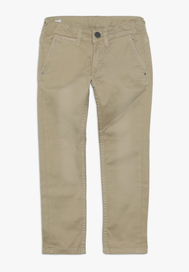 BLUEBURN - Pantalones chinos - light biscuit