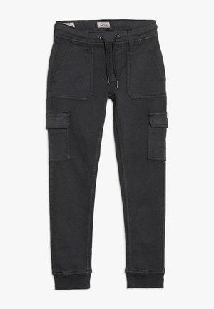 CRASH - Pantalon cargo - charcoal