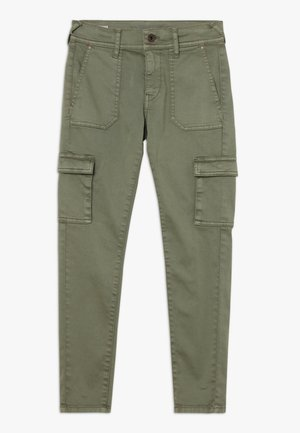 CANYON - Cargo trousers - military green