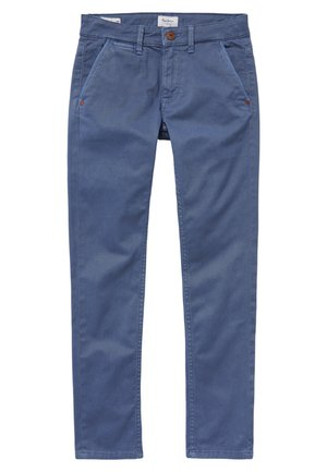 GREENWICH MINIMAL - Pantalon classique - avedon blau