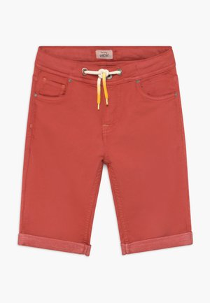 JOE - Denim shorts - factory red