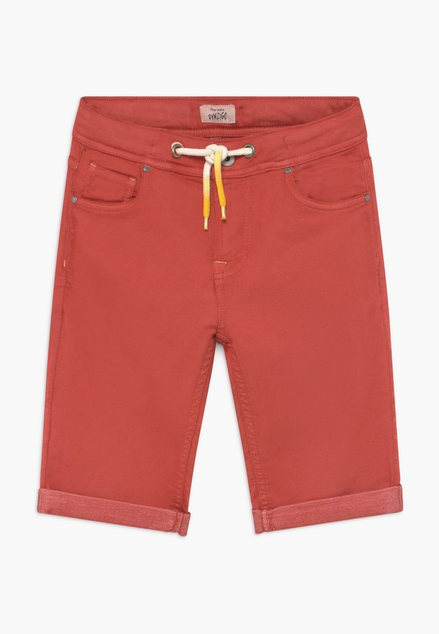 JOE - Szorty jeansowe - factory red