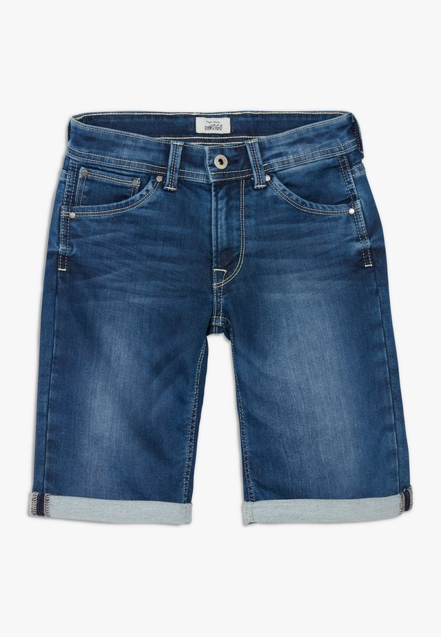 CASHED - Shorts vaqueros - denim