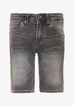 CASHED  - Denim shorts - denim