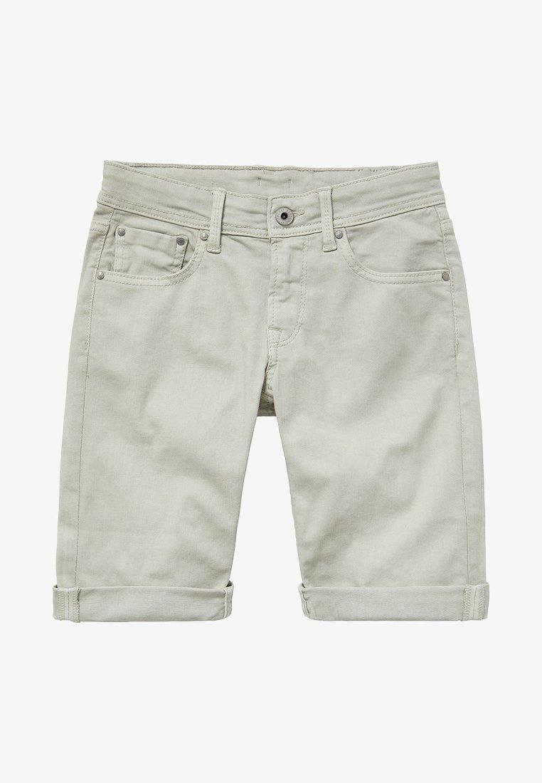 Pepe Jeans - Denim shorts - green