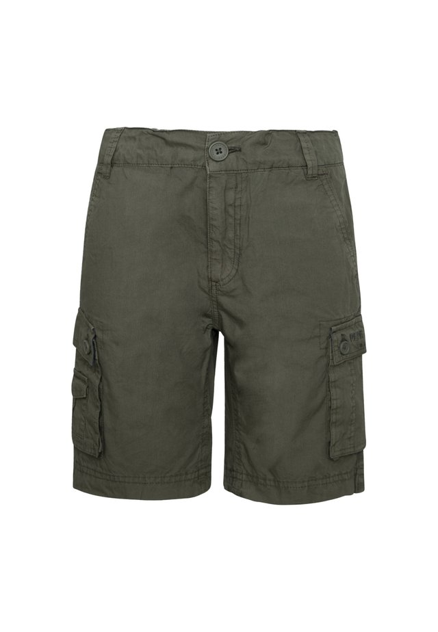 BARRY - Shorts - pond braun