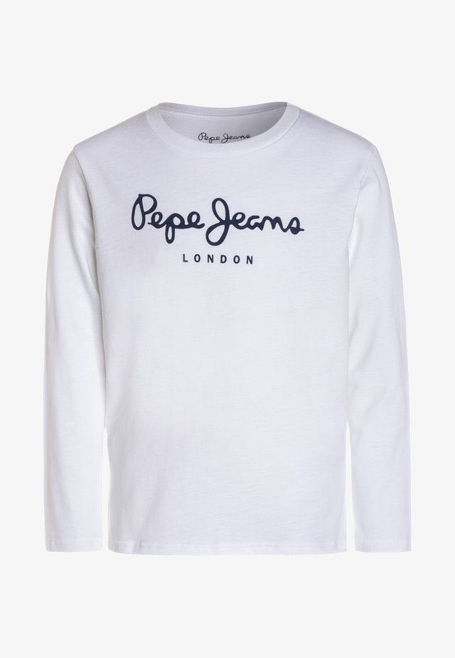 NEW HERMAN  - Langarmshirt - white