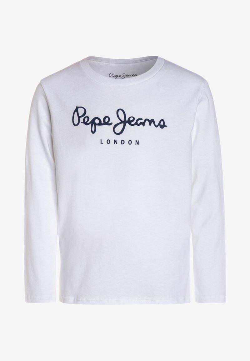 Pepe Jeans - NEW HERMAN  - Langarmshirt - white