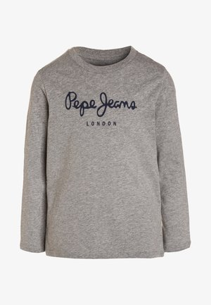 NEW HERMAN  - Longsleeve - grey marl