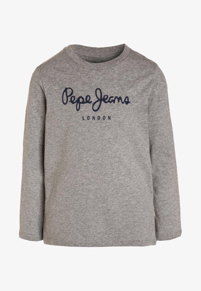 Pepe Jeans - NEW HERMAN  - Long sleeved top - grey marl