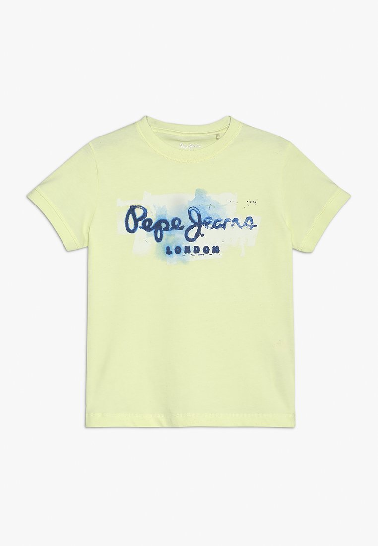 Pepe Jeans - GOLDERS - T-Shirt print - lime yellow
