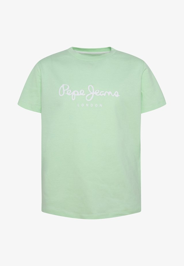 ART - Camiseta estampada - menthol green