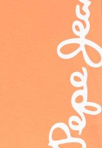 Pepe Jeans - WALDO - T-shirt med print - acid orange - 3