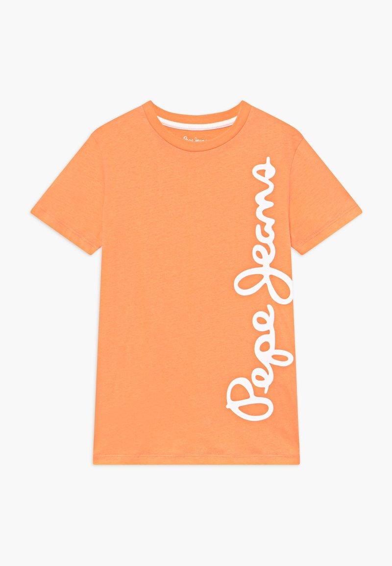 Pepe Jeans - WALDO - T-shirt med print - acid orange