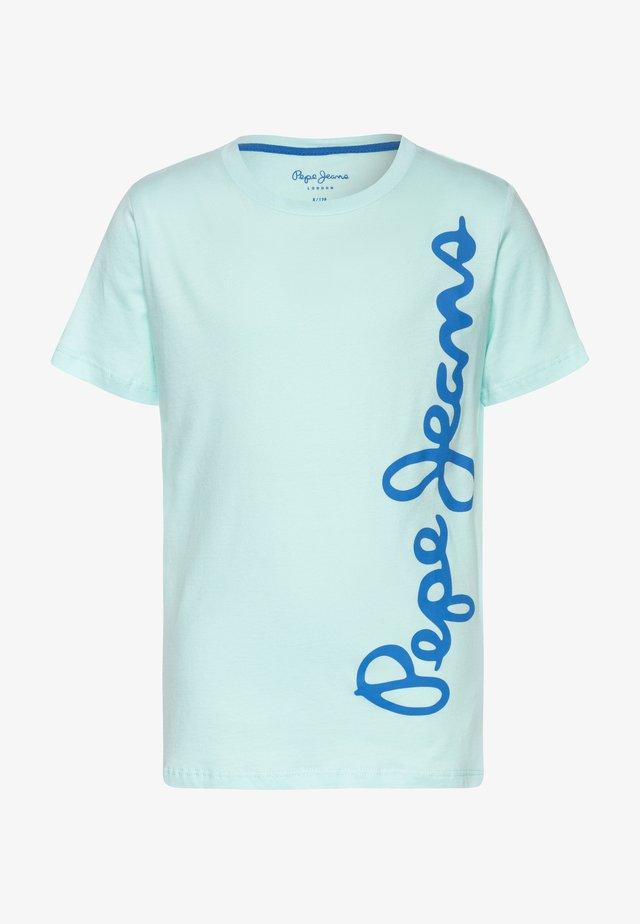 WALDO - Camiseta estampada - light spa